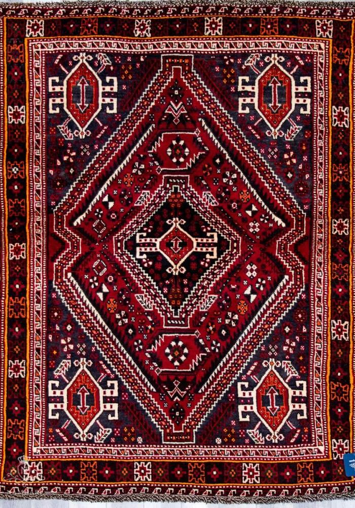 Shiraz Namdari Persian Carpet Rug N1Carpet